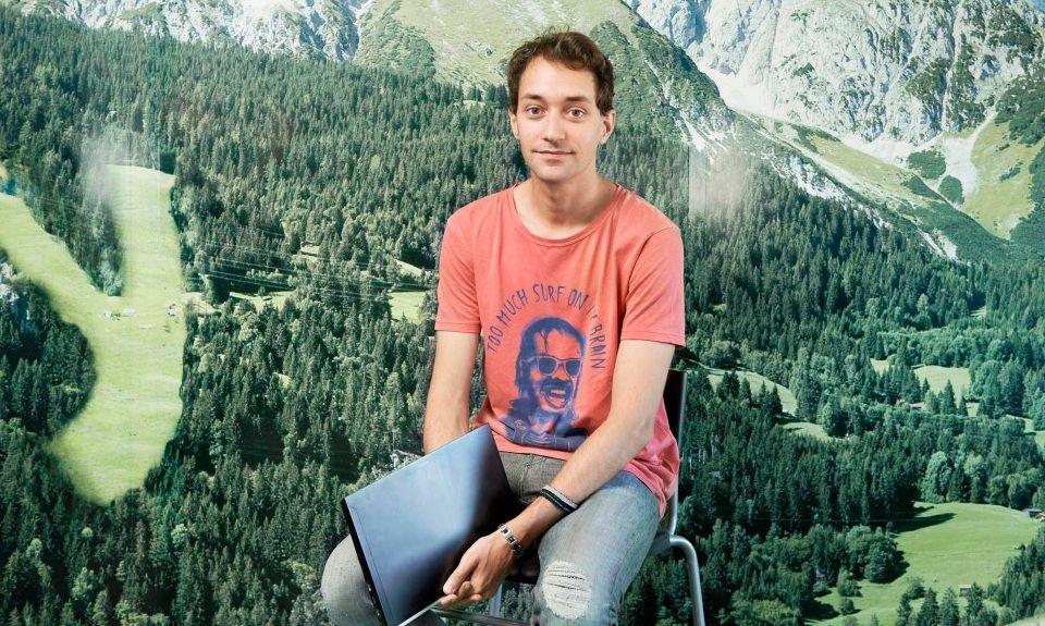 Alexandre Malsch, cofondateur et directeur général de Melty