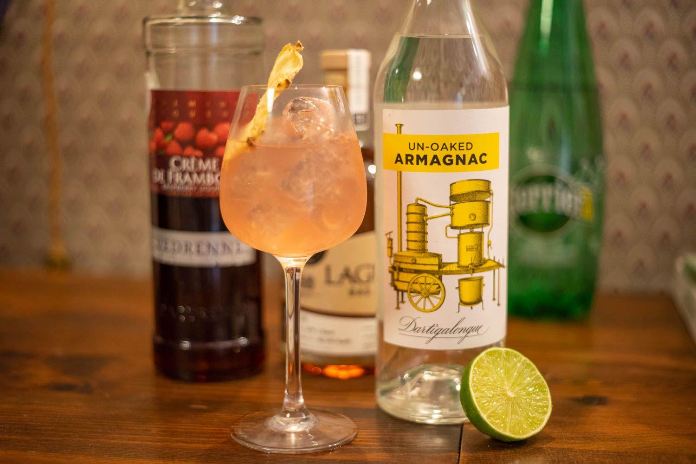 Framboise Fizz armagnac