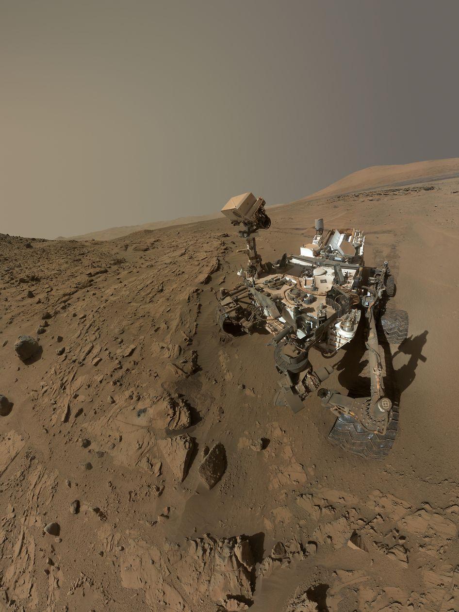 Le robot Curiosity s'est posé en août 2012 sur Mars.