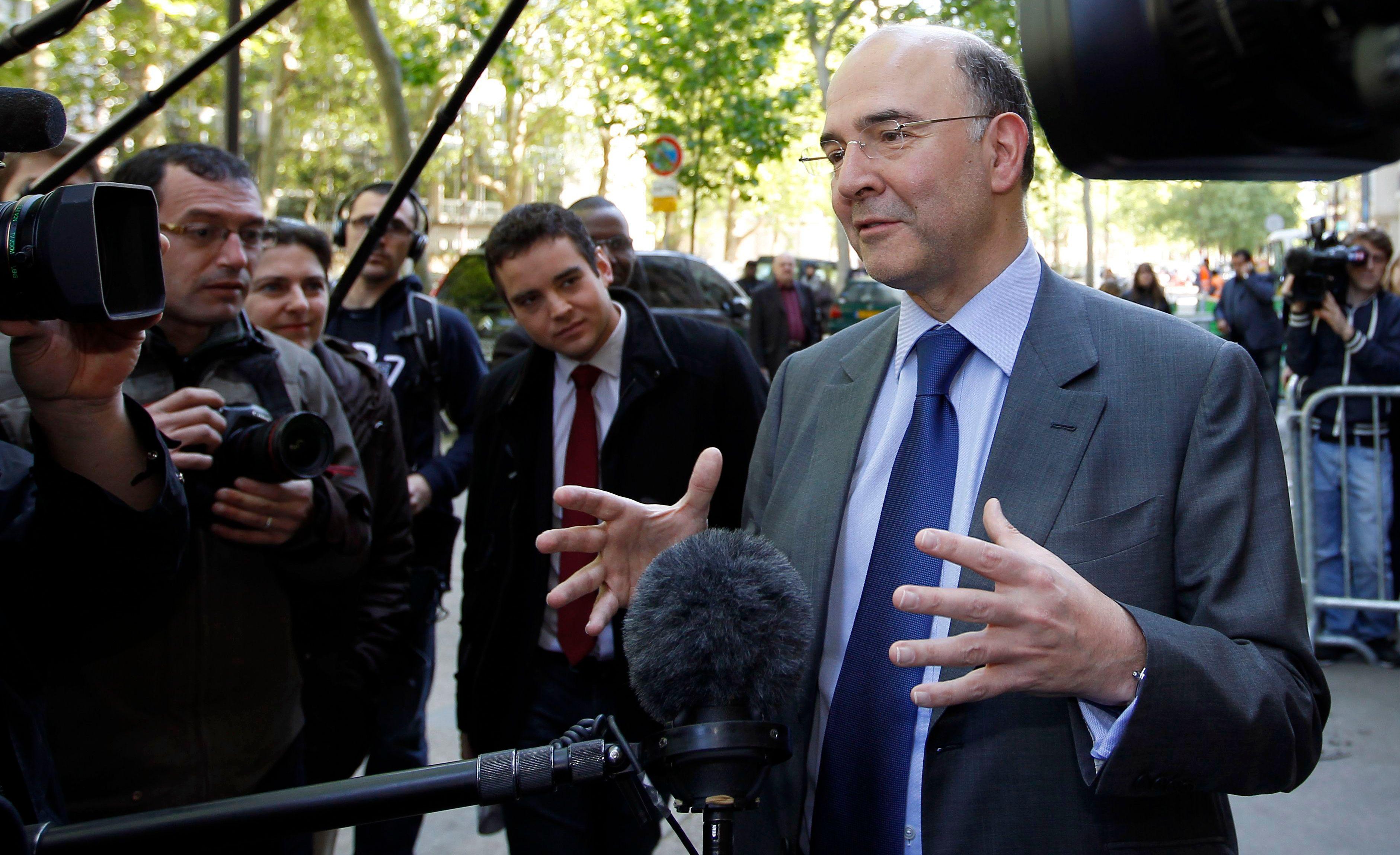 Pierre Moscovci s'est exprimé sur la croissance française