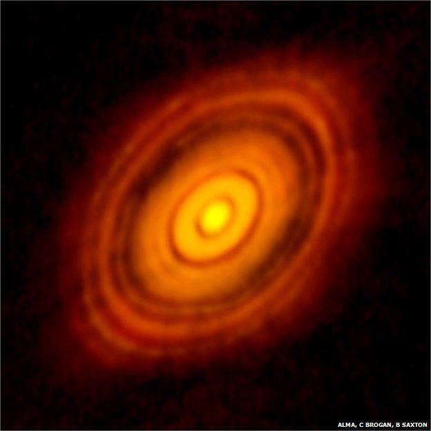 Le télescope Alma a capté cette image