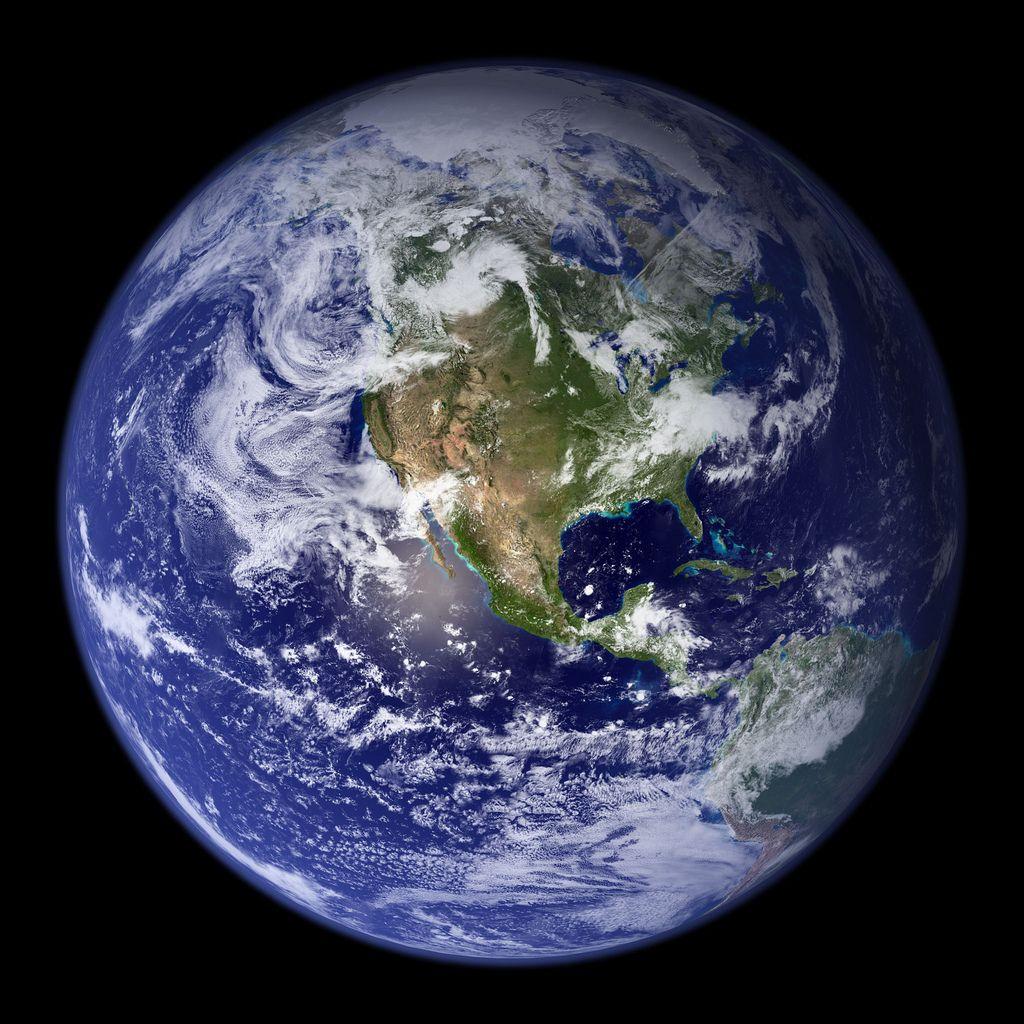 La surface de la Terre est en constant mouvement