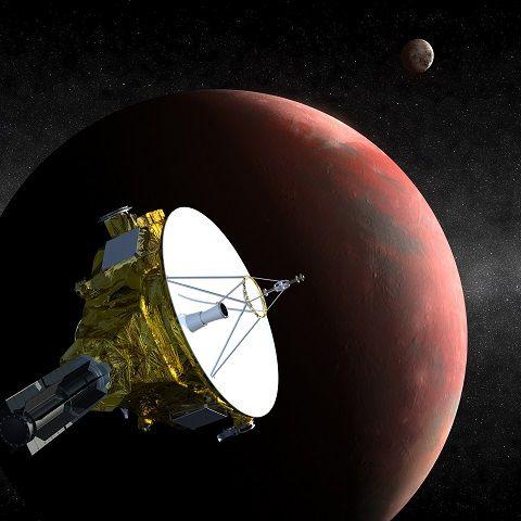 La sonde New Horizons de la Nasa se rapproche de Pluton et de son satellite Charon pour les mitrailler de photos.