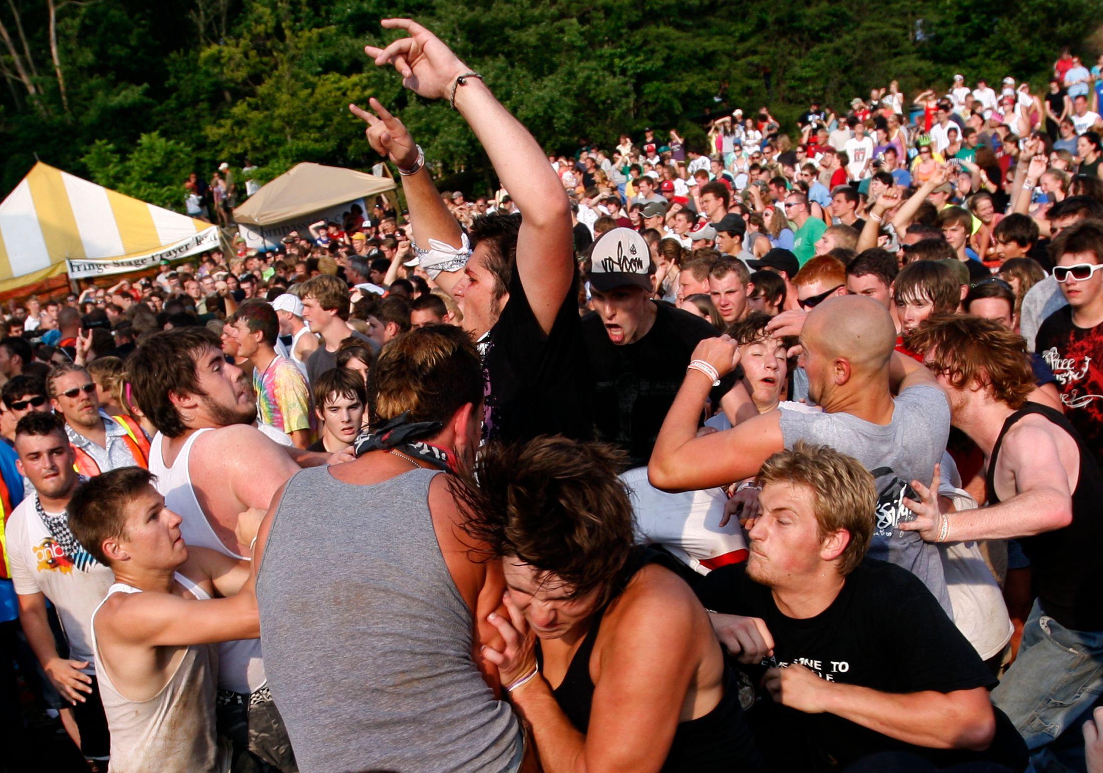 N'importe quel mouvement de foule est prévisible, même ceux qui semblent les plus chaotiques...