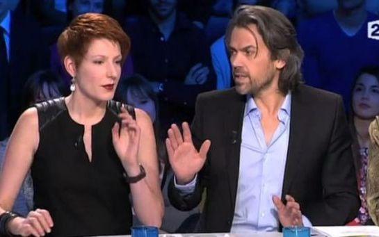 Natacha Polony et Aymeric Caron