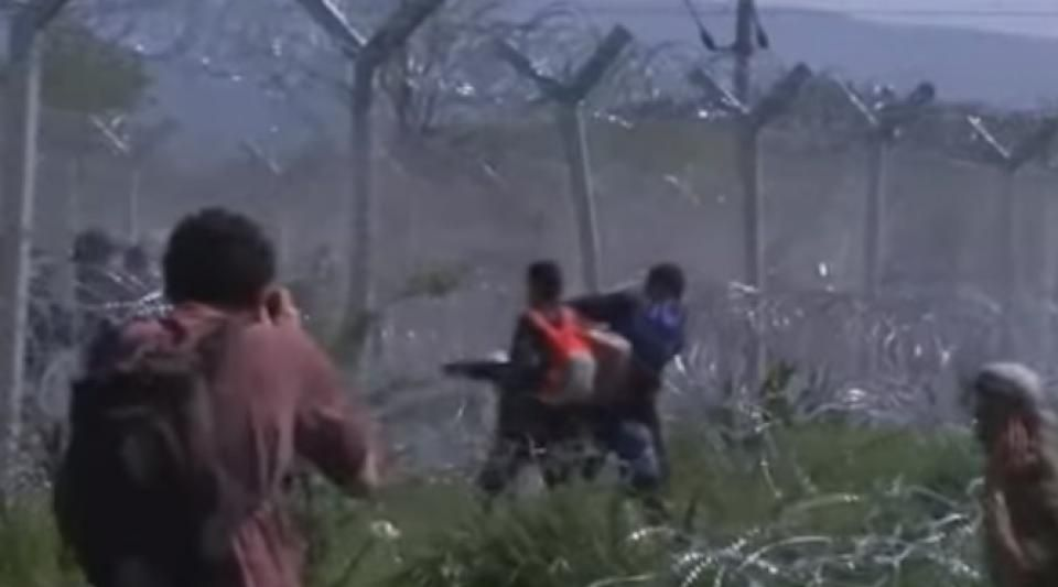 Dimanche 10 avril, 260 migrants ont été blessés lors de ces épisodes de violence.