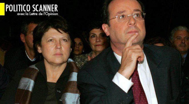 Martine Aubry passe devant François Hollande...