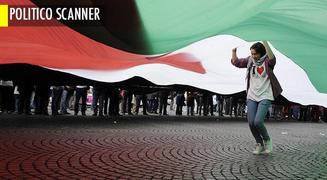 Manifestation pro-palestienne à Paris.