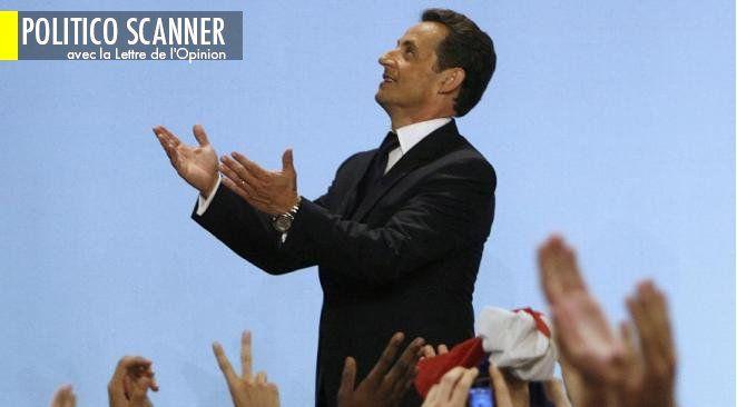 Nicolas Sarkozy après sa victoire en 2007.