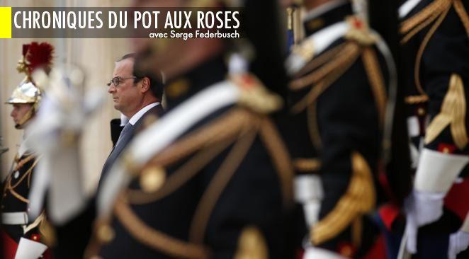 François Hollande aux portes de l'Elysée.