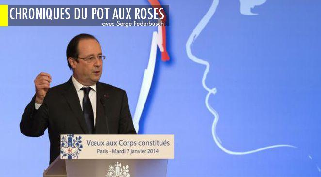 François Hollande lors de ses voeux.