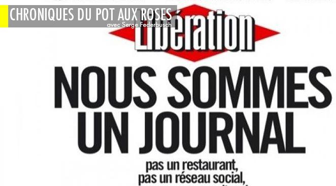 Une du 8 février du quotidien Libération.
