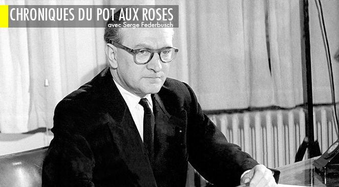 Guy Mollet, président du Conseil sous la IVe République de février 1956 à juin 1957.