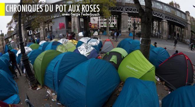"""Opération """"mise à l'abri"""" : Hollande bientôt traité comme un migrant ?"""
