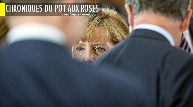 Angela Merkel a menacé les pays récalcitrants à l'accueil des migrants d'une rupture non conventionnelle d'accès au robinet des aides européennes.