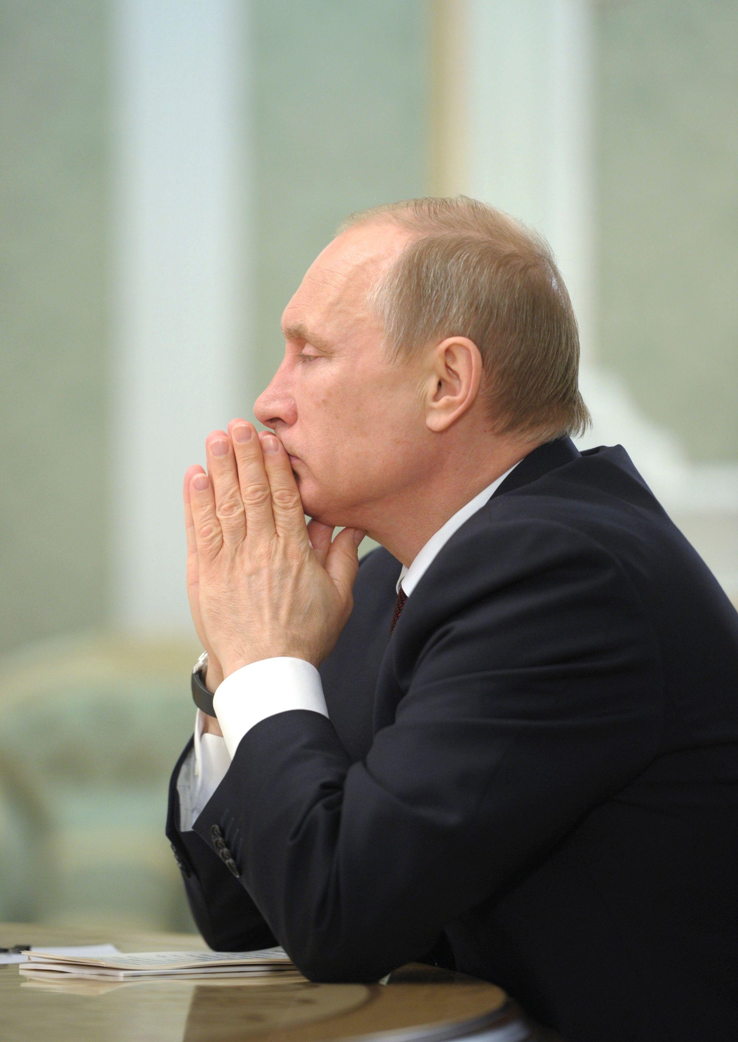 Face aux sanctions occidentales, le tsar de toutes les Russies a pris des mesures de rétorsion.