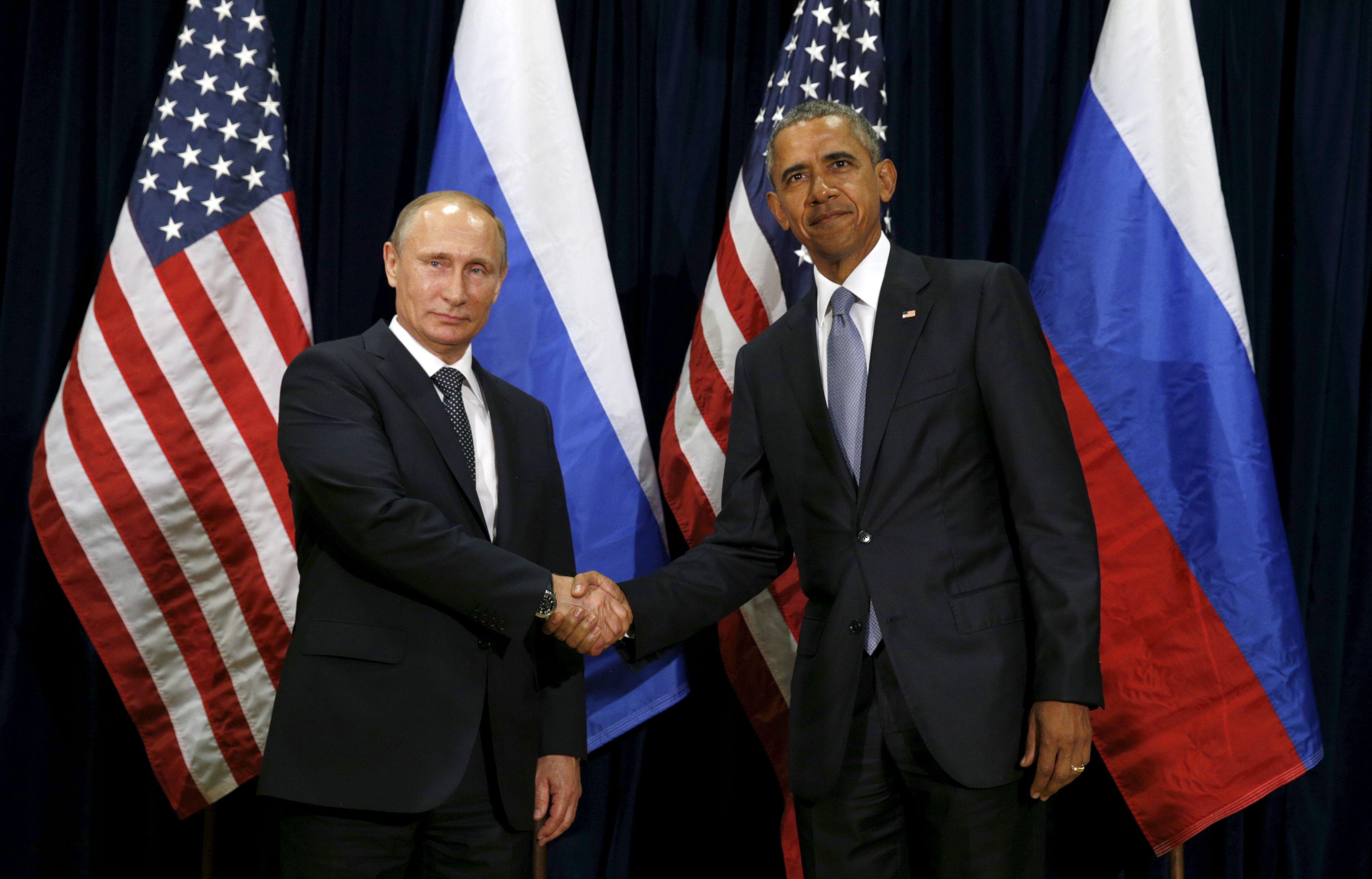 Syrie : Barack Obama et Vladimir Poutine prêts à s'allier pour vaincre l'Etat islamique
