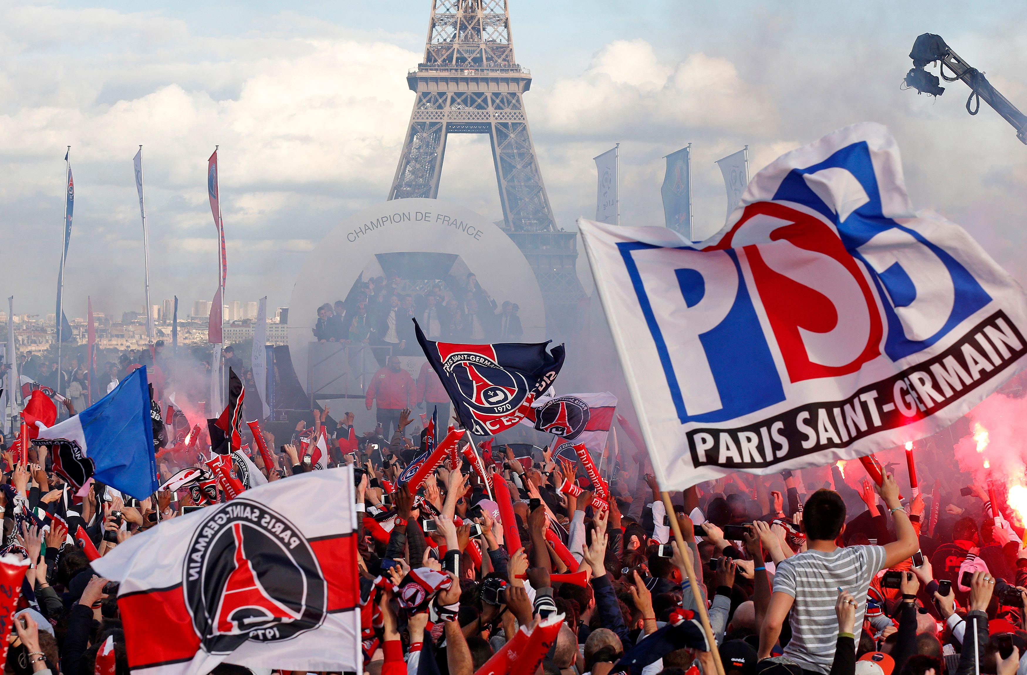Les émeutes ont entâché la fête que le PSG avait organisé après avoir remporté le championnat de France