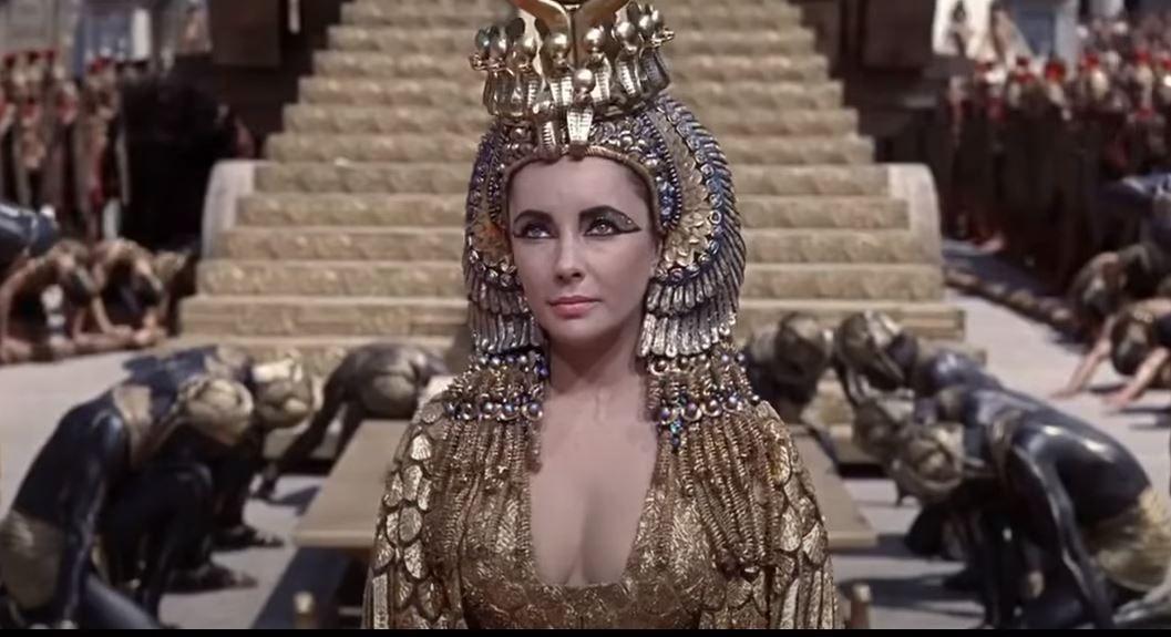 Cléopâtre reine d'Egypte histoire passé Jules César Rome antique