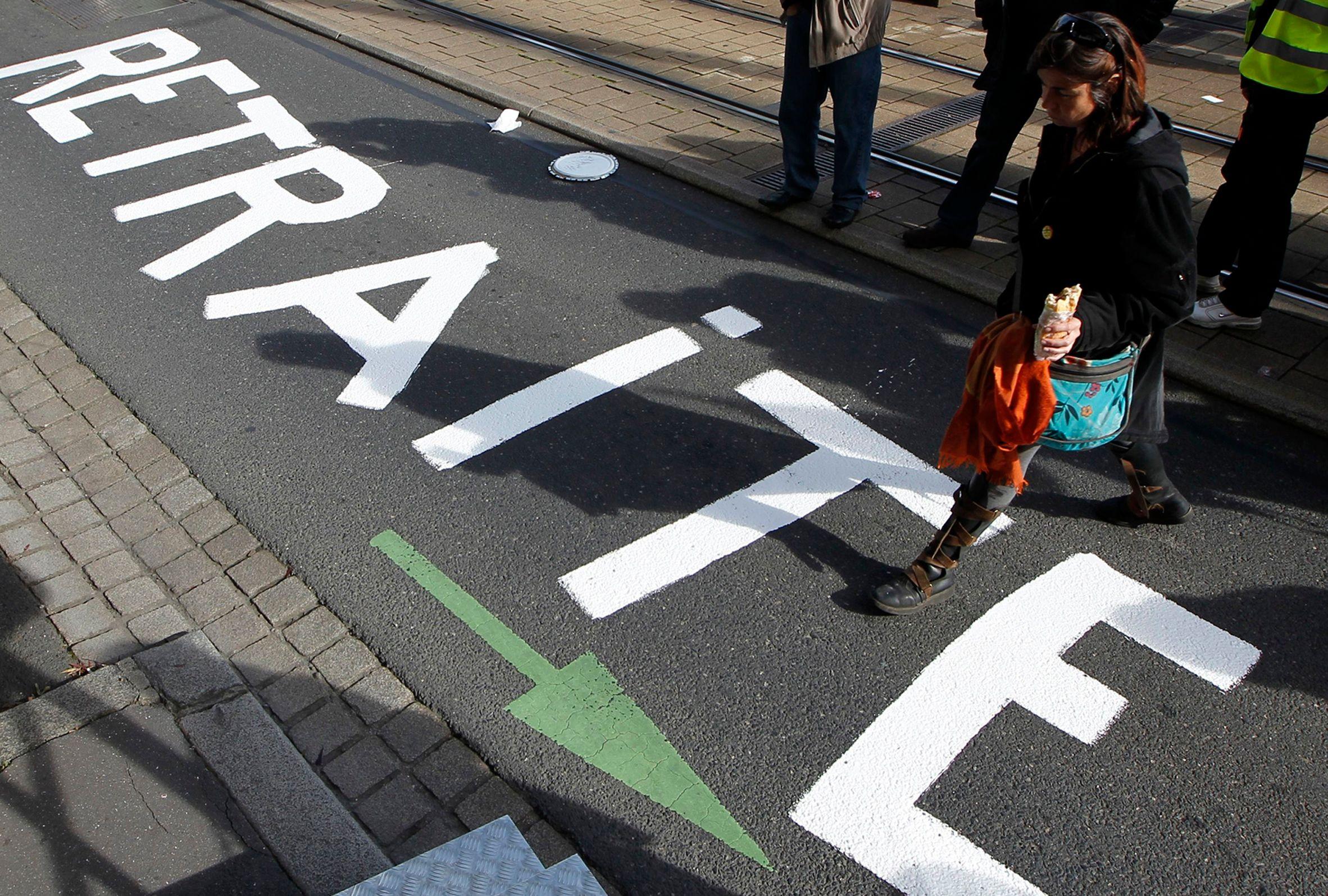 Le chiffre : Pour 78% des Français la réforme des retraites est insuffisante