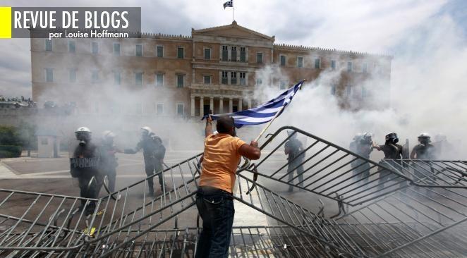 """Le blog collectif """"Austerity and discontent"""" (L'austérité et l'agitation) recense les signaux de révolte venus d'Europe."""