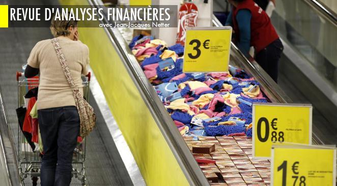 Le spectre de la déflation menace en Europe.