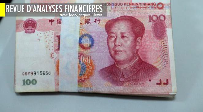 """Les banques chinoises contrôlée par l'Etat ont été """"invitées"""" à diminuer les prêts accordés aux institutions privées. Les entreprises chinoises ne peuvent plus faire virer à l'étranger plus de 5M$."""