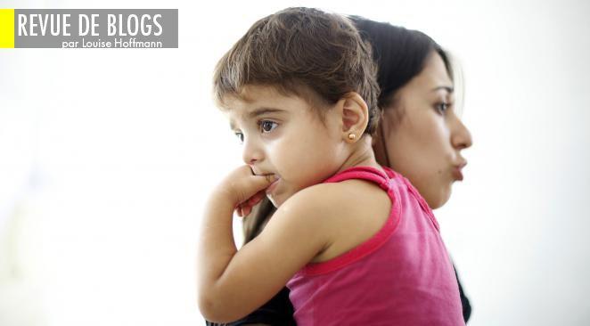 Une mère syrienne et son enfant.