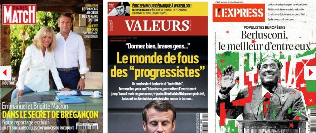 Emmanuel Macron LREM François Bayrou hard discount progressistes Silvio Berlusconi