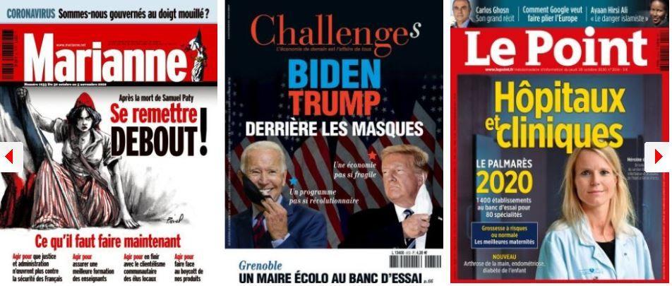 Macron s'inquiète de l'affaiblissement de Castex, les islamo-gauchistes refusent d'assumer leurs responsabilités; Le juteux business des ex-politiques; Olivier Véran, l'homme qui dit qu'on n'a pas voulu l'écouter sur la gravité du Covid