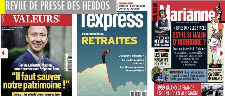 LR : Jacob ne veut pas débattre avec ses opposants; PMA : Marine Le Pen hésite entre vote contre et abstention; Villani le danger de ceux qui n'ont rien à perdre; Patrick Buisson étrillé par le livre de son fils; Piketty en guerre contre les milliardaires