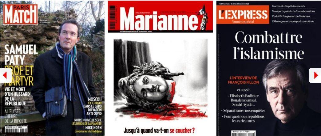 Samuel Paty islamisme guerre séparatisme François Fillon gouvernement Emmanuel Macron coronavirus covid-19