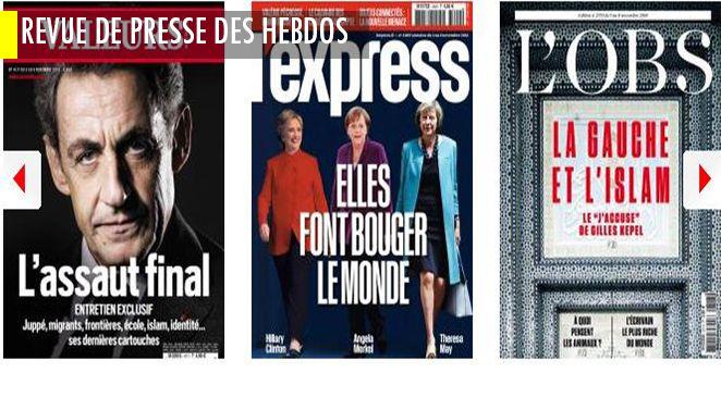 Alerte à l'engorgement des bureaux de la primaire ; Montebourg : la campagne pâlotte ; Gilles Kepel pilonne le Comité contre l'islamophobie ; les Français de plus en plus armés...