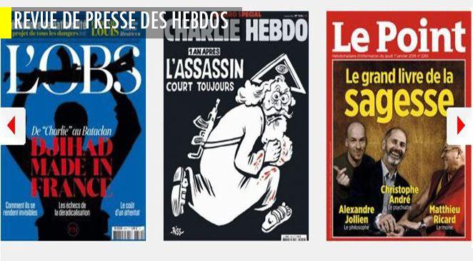 """Manuel Valls veut faire assumer les idées de nation et de frontière à la gauche ; Charlie Hebdo, ce qu'il s'y passait avant le drame ; Fillon : """"Je suis le seul à offrir une vraie rupture"""""""