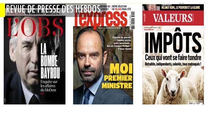 Edouard Philippe : Macron, Felix Faure, René Coty et moi ; L'étrange association d'aide aux détenus qu'on retrouve dans beaucoup d'affaires de terrorisme ;  La muse coréenne de la gastronomie mondiale
