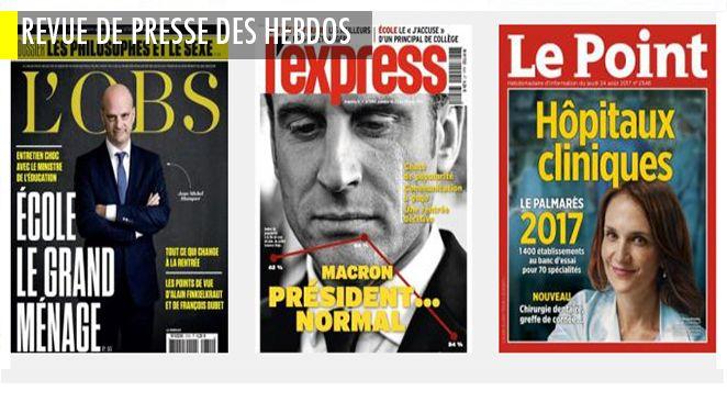 Bayrou égratigne gentiment le gouvernement ; Lecture : Blanquer renonce à la méthode globale ; Mélenchon a des rêves de grandeur ; islam et islamisme peut on les séparer ?