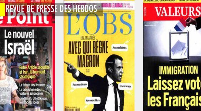 Macron : la solitude des sommets ; Mars, notre planète B ? ; Israël en septuagénaire alerte ; Zadistes des Cent Noms, chronique d'un échec ; un référendum sur l'immigration ?