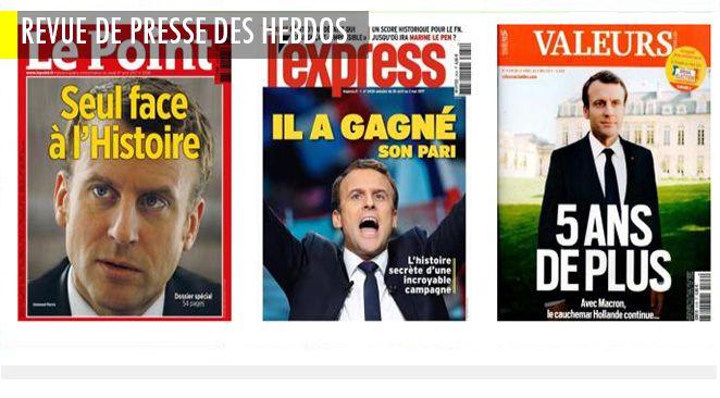 François Fillon : ceux qui ont vécu la campagne de l'intérieur s'épanchent ; A chaque hebdo son Macron mais la même Le Pen pour tous (sauf chez Valeurs Actuelles) ; Et pendant ce temps là à Fukushima, on force les gens à rentrer chez eux