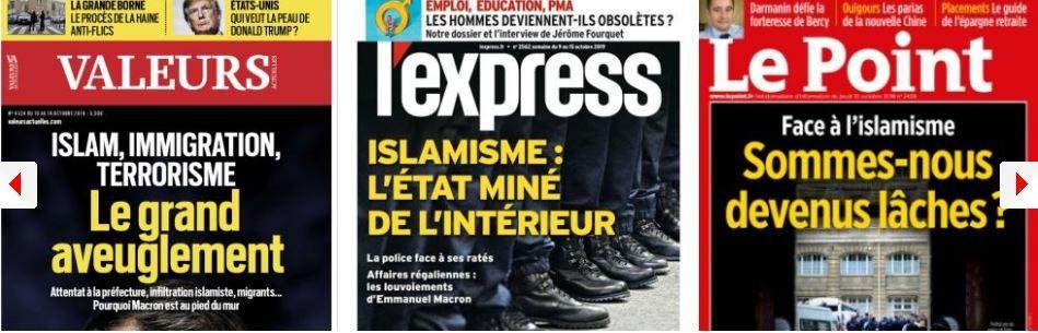 Islamisme : Giesbert attaque Le Monde et Mediapart, Polony rappelle quelques vérités bien senties ; Municipales : LREM et LFI craignent une raclée ; Alliance avec le RN : Jacob intransigeant face à la pression de la base