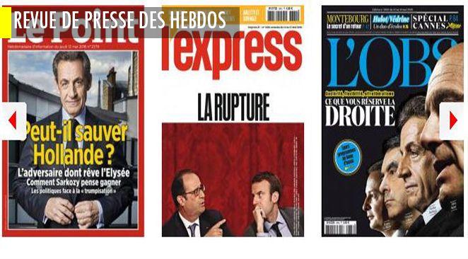 """""""Ni droite, ni gauche (...) mi homme mi femme"""" : Macron vu par Sarkozy ; Montebourg : dans les secrets de son retour ; Trump ou le show à l'américaine (mais pas celui dont s'inspirent les candidats français)"""