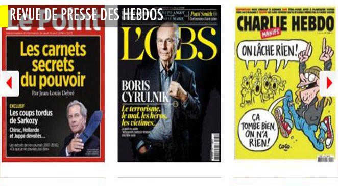 """Sarkozy (et ses """"coups tordus"""") vu par Jean-Louis Debré ; Bruno Le Maire (""""moi c'est maintenant"""") vu par Christine Angot ; et le djihadisme vu par Boris Cyrulnik : """"C'est dans le chaos que poussent les héros"""""""