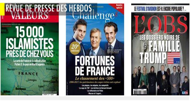 Qui veut gagner des millions ? Impossible d'y prétendre si vous n'êtes pas déjà milliardaire ! , Le Point et Marianne veulent sauver le soldat Valls ! ; A quoi vont servir les constructifs ?