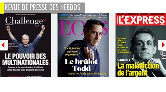 La guerre des Charlie et des anti Charlie est déclarée; Sarkozy : la malédiction de l'argent?; réforme du collège: le massacre des innocents