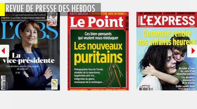 Le Pen : 30 ans de haines en famille ; Sarkozy- Fillon : 5 ans de haine à la tête de l'Etat ; Segolène Royal, 2 ans de dévouement pour faire réélire le président