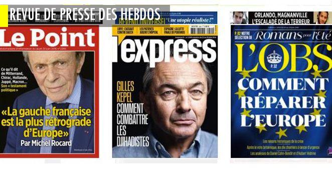 """Michel Rocard assassine la gauche dans une interview testament politique ; le Sénégal se """"djihadise"""" ; l'Italie en passe d'inventer le populisme respectable ?; Les policiers pris pour cibles par le terrorisme se confient"""