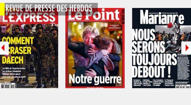 Anti-terrorisme français: les graves ratés de l'avant 13 novembre; Hollande affaibli ou renforcé par les attentats? Bachar el-Assad, sauvé ou condamné ?