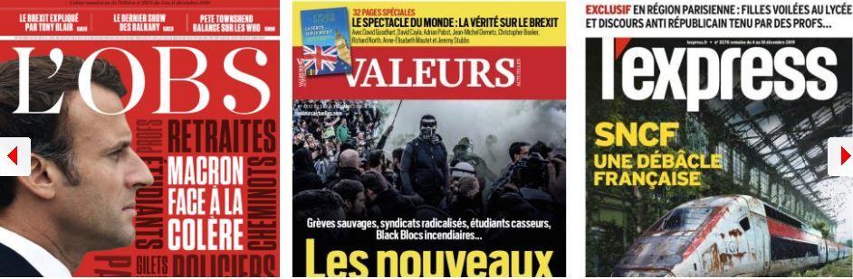 Edouard Philippe n'a pas peur de 1995, mais le reste de la macronie, si; La réforme de l'islam de France au point mort; Ces familles qui financent leurs enfants terroristes; Quand les enseignants d'extrême gauche aggravent le communautarisme