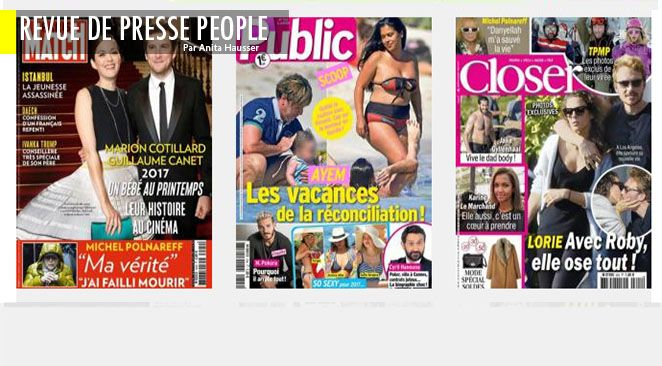 """Sophie Marceau : Cyril veut la reconquérir mais c'est un grand niet; Photos (pas?) volées : les Macron s'embrassent langoureusement à Lisbonne; Melania aux fourneaux, Ivanka Trump : """"la first lady c'est moi""""; Crêpage de chignons à la cour de Belgique"""