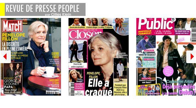 Albert & Charlène de Monaco se retrouvent pour la St Valentin (mais en public); Pénélope F. : femme au bord de la crise de nerfs?; L'ex beau-père de Kim Kardashian se fait refaire les seins; Meghan Markle & le prince Harry négocient sec sur le pre-nup'