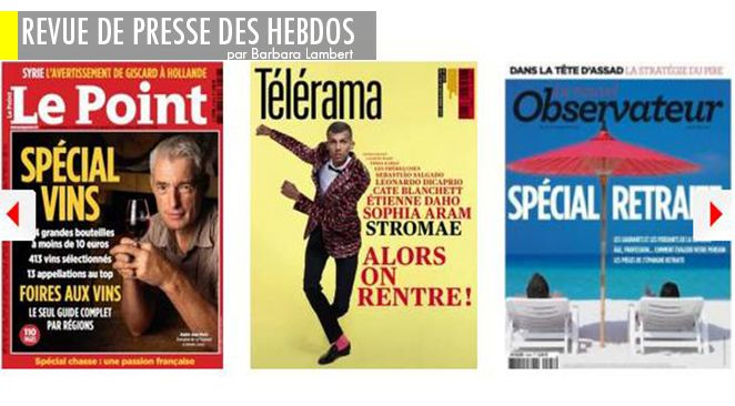 Sarkozy/Kadhafi : le livre explosif, Syrie : faut-il y aller ou pas, et pourquoi
